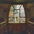 Interieur, eerste verdieping, hal, glas in loodraam (Sint Hubertus) - Molenhoek - 20002592 - RCE.jpg