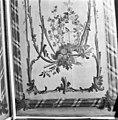 Interieur behangschildering boven deur in kamer van de wacht. - Middelburg - 20155134 - RCE.jpg
