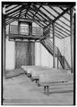 Interior, looking west - Templo de Porta Coeli, San German, San German Municipio, PR HABS PR,5-SANG,1-19.tif
