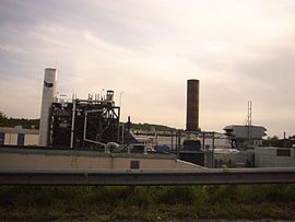 The International Paper factory, in Saillat-sur-Vienne