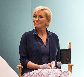 Mika Brzezinski - Brzezinski being interviewed at BookExpo America in 2018