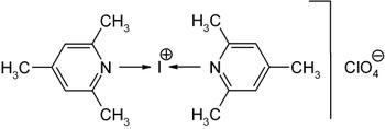 Di-sym-collidin-iodoniumperchlorat