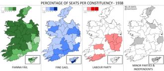 Irish general election, 1938 - Image: Irish general election 1938