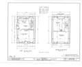 Irvine Estate, Miller's House, Irvine, Warren County, PA HABS PA,62-IRV,2B- (sheet 3 of 7).png