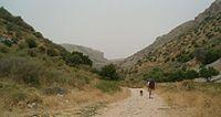 Israel National Trail east Wadi Dishon.jpg