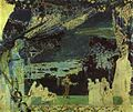 Italian Night in Naples (Sketch for the curtain in Russian Private Opera), 1891 - Mikhail Vrubel.jpg