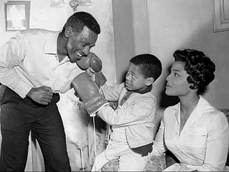 "Ivan Dixon - L-R: Ivan Dixon, Steven Perry and Kim Hamilton in ""The Big Tall Wish"", a 1960 episode of The Twilight Zone"