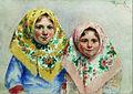 Ivan Kulikov Girls. 1918.jpg