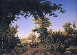 Ivan Shishkin - View on the Outskirts of St. Petersburg.JPG