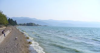 Lake İznik - Lake İznik, as seen from the town of İznik.