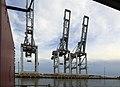 J34 586 Hafen Montevideo, Containerkräne.jpg