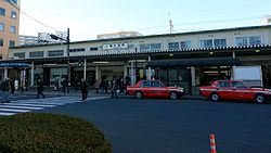 JREast-Sobu-main-line-JO23-JB25-Shin-koiwa-station-entrance-south-20161215-150649.jpg