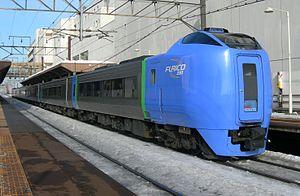 Hokuto (train) - KiHa 281 series DMU on Super Hokuto service