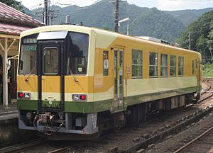 Kisuki Line - Image: JRW kiha 120 206