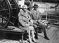 Jack Hobbs with wife 1929.jpg