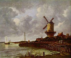 Wijk bij Duurstede - Image: Jacob Isaaksz. van Ruisdael 014