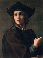 Portrait d'un graveur en pierres fines