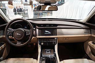 Jaguar XF (X260) - Interior