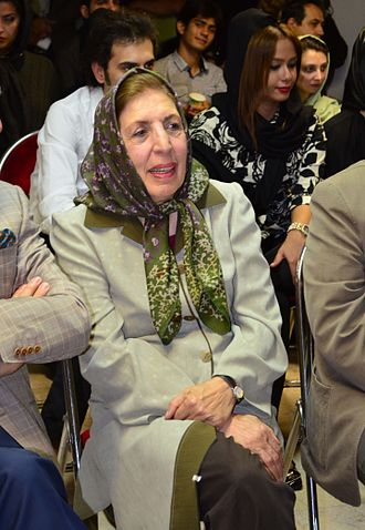 Jaleh Amouzgar - Amouzgar in Tehran, 2013