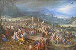 Jan Brueghel d.Ä. Kreuzigung Christi inkl. Rahmen.JPG