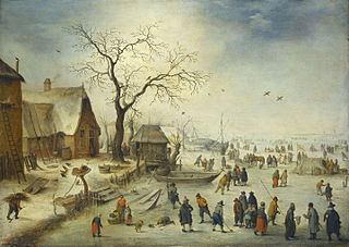 Village in Winter
