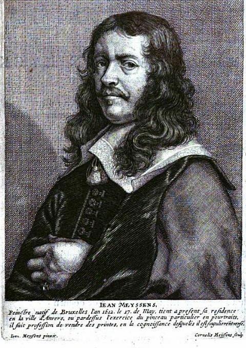 Jan Meyssens by his son Cornelis