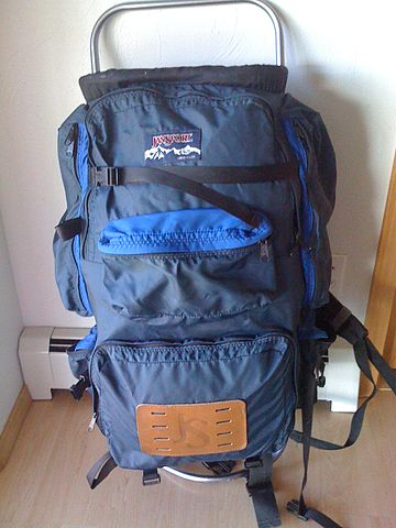 File Jansport D 3 Backpack Jpg Wikimedia Commons
