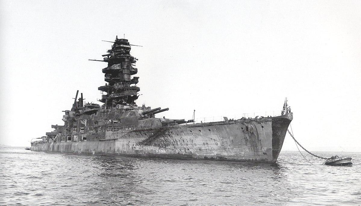 Japanese Battleship Nagato 1946.jpg