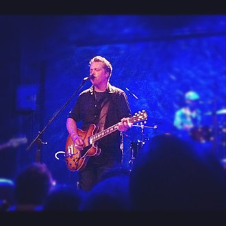 Jason Isbell - Isbell with the 400 Unit at Bowery Ballroom, NYC in January 2013