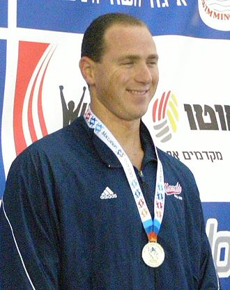 Jason Lezak - Lezak at Maccabiah Games in July 2009
