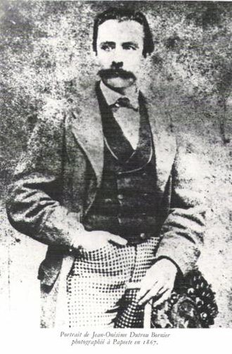 Jean-Baptiste Dutrou-Bornier - Jean-Baptiste Dutrou-Bornier from a photograph taken in 1867 in Papeete.