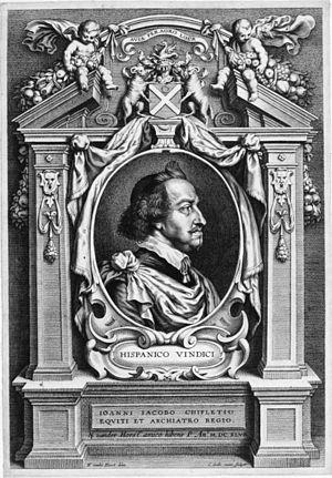 Jean-Jacques Chifflet - Jean-Jacques Chifflet (1588–1660) (Cornelis Galle II, 1647)