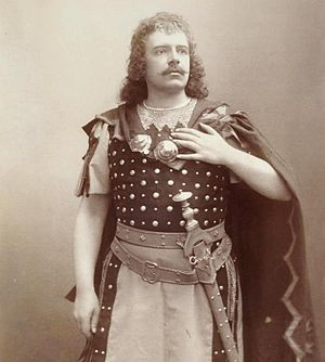 Baritenor -  Tenor Jean de Reszke who originally trained as a baritone