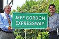 Jeff Gordon Expressway sign unveiling.jpg