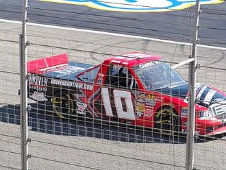 Jennifer Jo Cobb - Cobb's 2010 truck at Atlanta