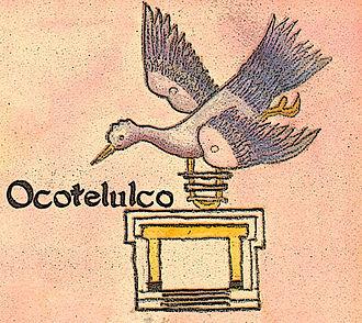 Tlaxcala (Nahua state) - Image: Jeroglificode Ocotelulco