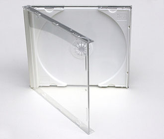 Optical disc packaging - A jewel CD case.