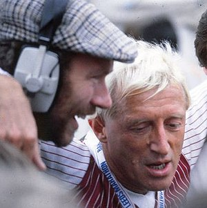 Jimmy Savile - Savile at the 1982 Leeds Marathon