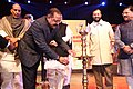 Jitendra Singh lighting the lamp on the occasion of the 91st Birthday celebration of the former Prime Minister, Shri Atal Bihari Vajpayee, in New Delhi. The Union Home Minister.jpg