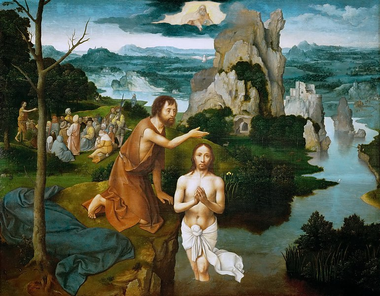 File:Joachim Patinir - Baptism of Christ - WGA17089.jpg