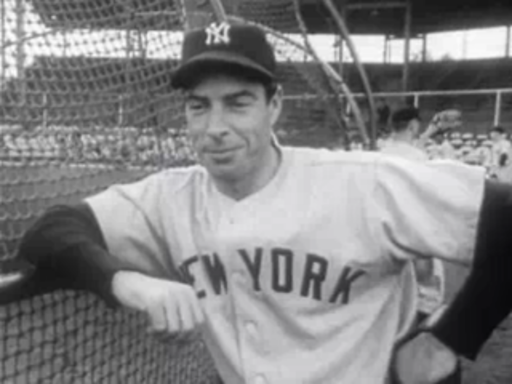 Joe DiMaggio 1951 Spring Training