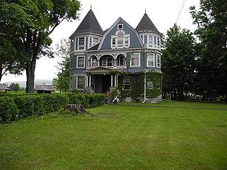 John Brand Jr. House - Image: John Brand Jr House, Elmira NY