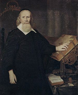 John Clarke (Baptist minister) - The Unknown Clergyman (possible portrait of Clarke)