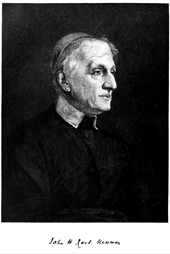 File:John Henry Cardinal Newman, from the Century ...