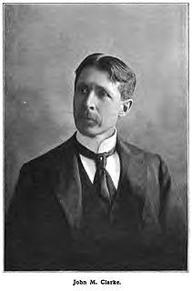 John Mason Clarke American geologist and paleontologist