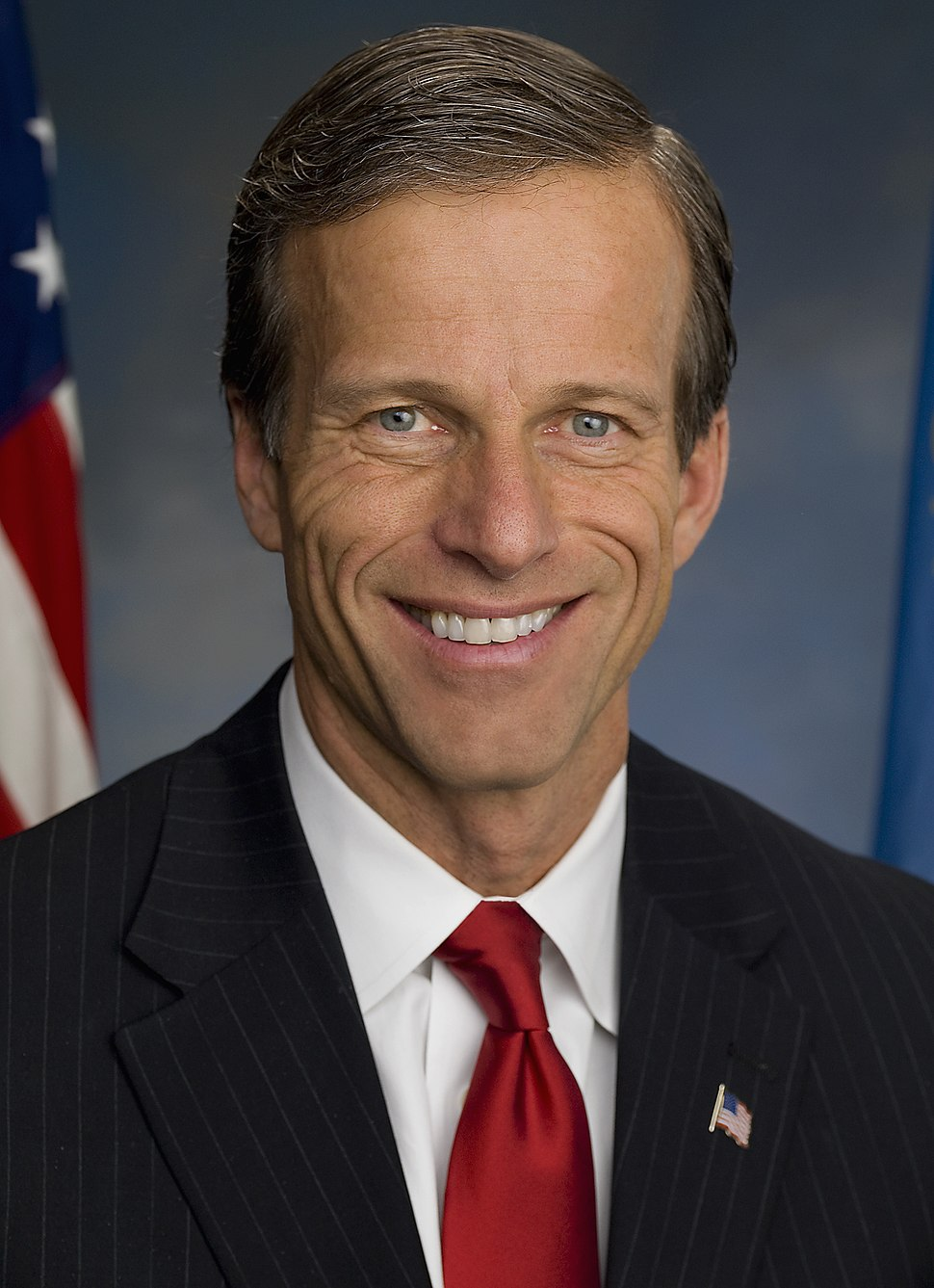 John Thune, official portrait, 111th Congress (cropped1)