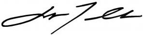 John Travolta signature