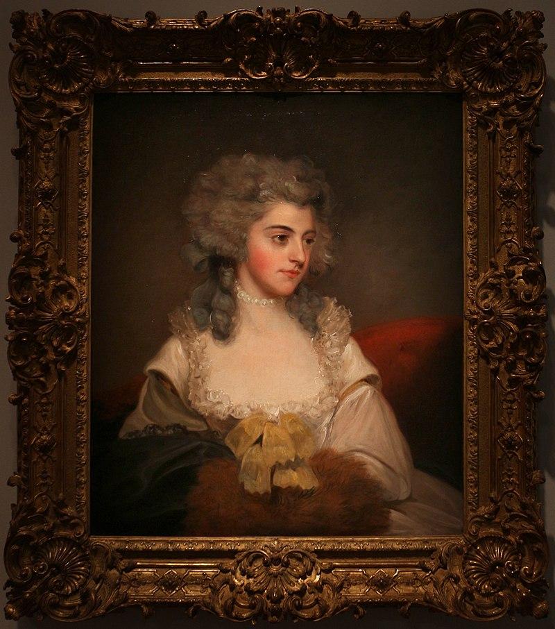 Джон хоппнер, Сюзанна Эдит, леди Роули, 1785 год ок.JPG