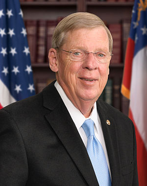 Johnny Isakson - Image: Johnny Isakson official Senate photo