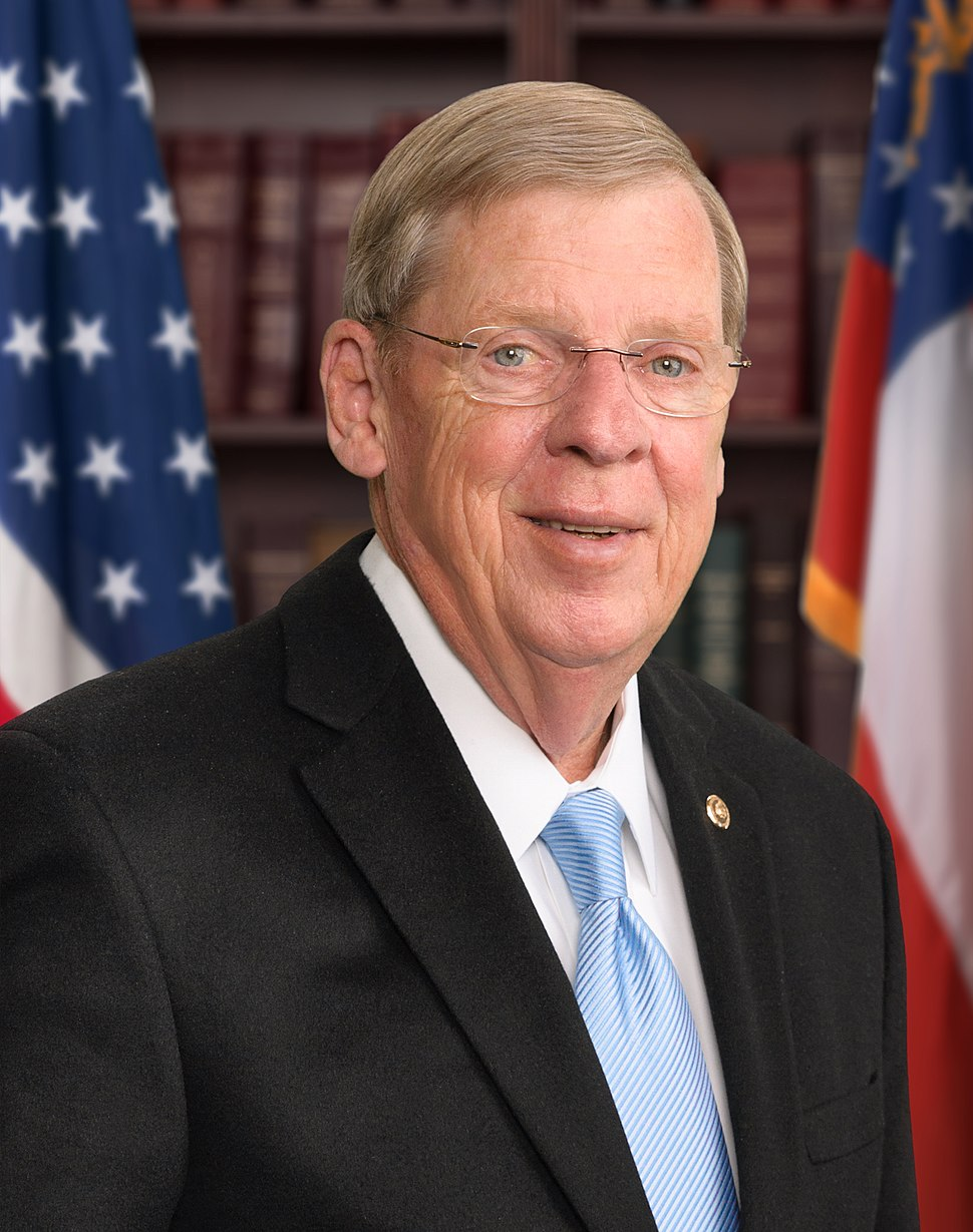 Johnny Isakson official Senate photo